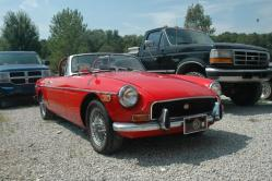Don Cassidy 1970 MG MGB