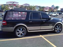 tinT N Tunes 2007 Ford Expedition EL