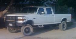 7anner3owles 1997 Ford F350 Crew Cab