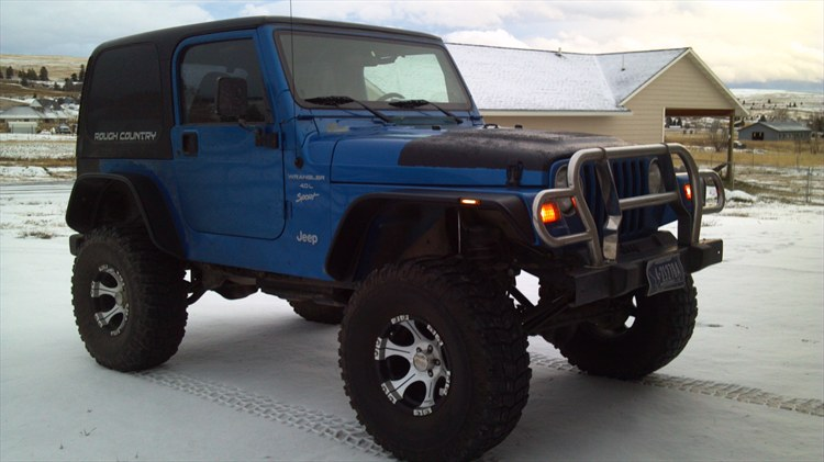 Superb Boeing4396u0027s 1999 Jeep Wrangler