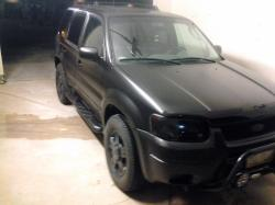 black hawk 2003 Ford Escape