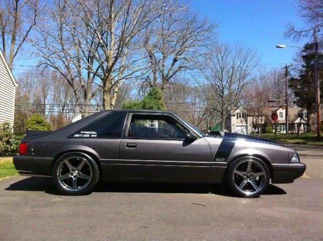 Blackedoutaltima 1990 Ford Mustanglx Hatchback 2d Specs