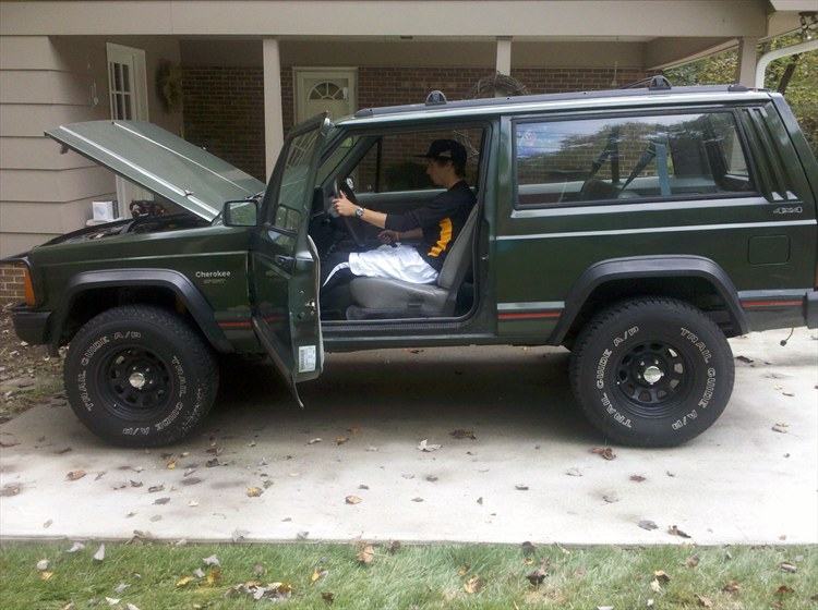 agctrackandfield 1995 jeep cherokeesport 2d specs photos modification info at cardomain. Black Bedroom Furniture Sets. Home Design Ideas