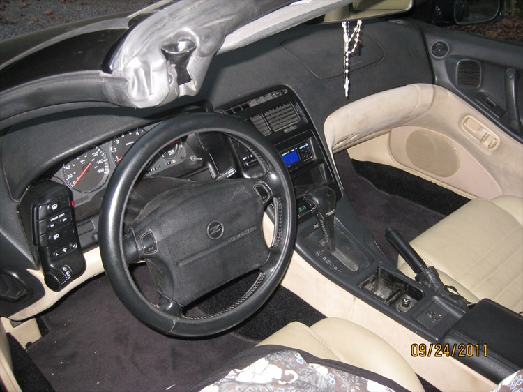 AAC Interior Trim (Carpet) Installed On 1994 Nissan 300ZX
