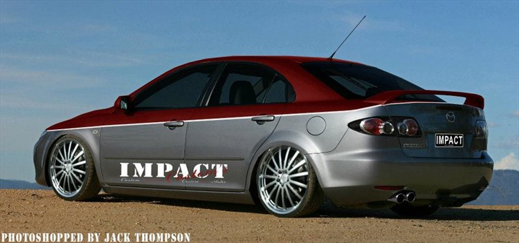 Another impact-customs 2003 Mazda MAZDA6 post... - 15875244