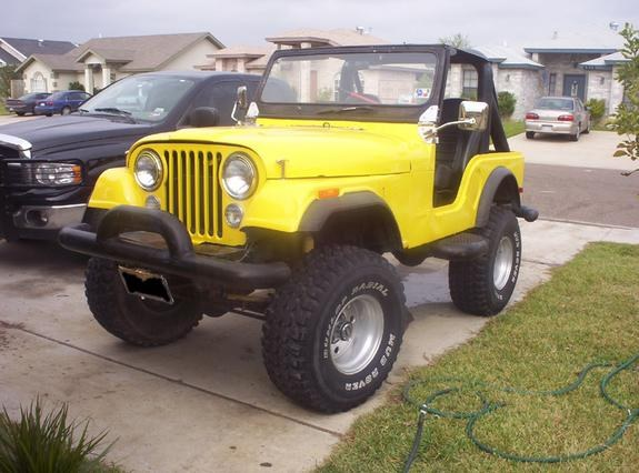 Orlando-Sanchez's 1977 Jeep CJ5