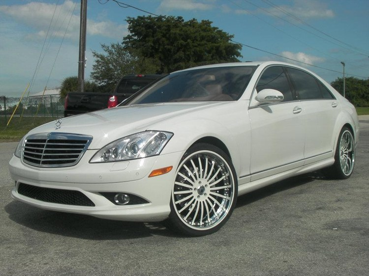 dubsandtires 2009 Mercedes-Benz S-ClassS550 Specs, Photos ...