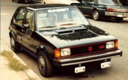 krateboy 1983 Volkswagen Rabbit