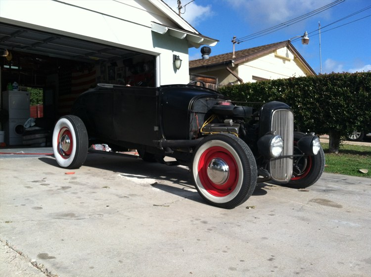 drawpdead 1929 Ford Model A