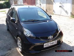 BAD RUSSIAN 2008 Toyota Aygo