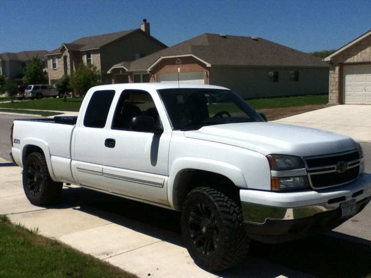 ChevyWaterfowler 2006 Chevrolet 1500 Extended Cab