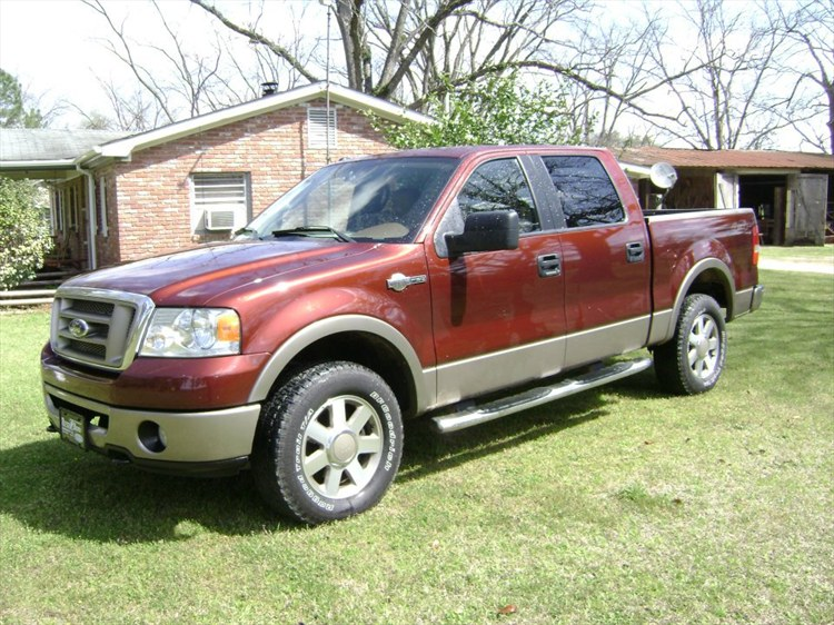 01strac 2007 Ford F150 Supercrew Cabking Ranch Styleside Pickup 4d 5 1  2 Ft Specs  Photos