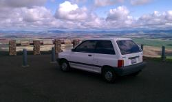 Meanp72 1988 Ford Festiva