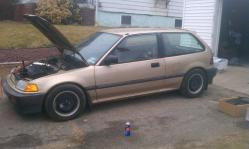 slickhatchls46 1990 Honda Civic