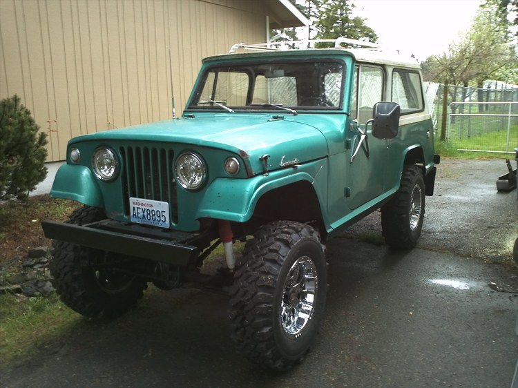 Kimoblaze 1967 Jeep Commando