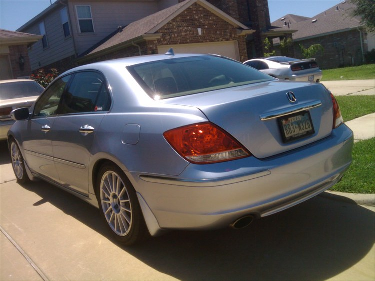 genmablue 2005 acura rl specs photos modification info at cardomain. Black Bedroom Furniture Sets. Home Design Ideas