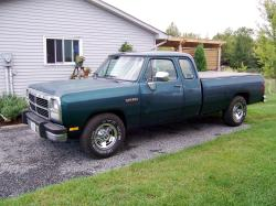 64typhoon 1993 Dodge D250 Club Cab