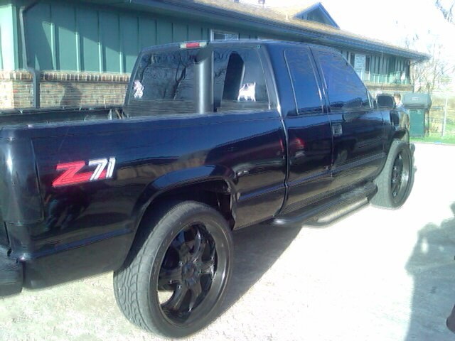 6.5chevy 1996 Chevrolet 1500 Extended Cab