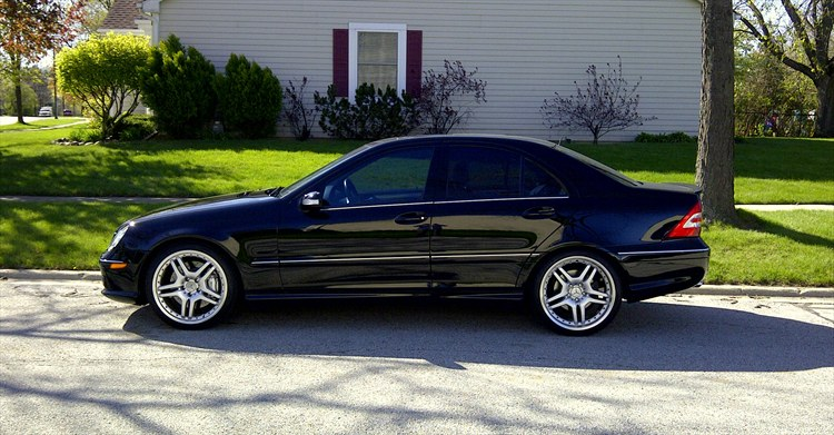 Kidd636 2005 mercedes benz c classc55 amg sport sedan 4d for 2005 mercedes benz c class