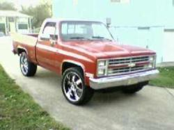 Nathaniel-Jones 1987 Chevrolet Silverado (Classic) 1500 Regular Cab