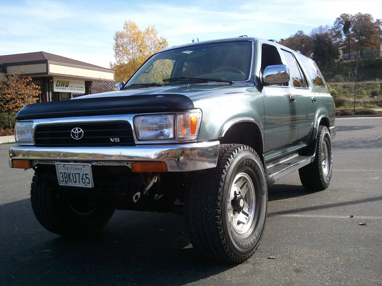 no lift and 33's - Page 2 - YotaTech Forums