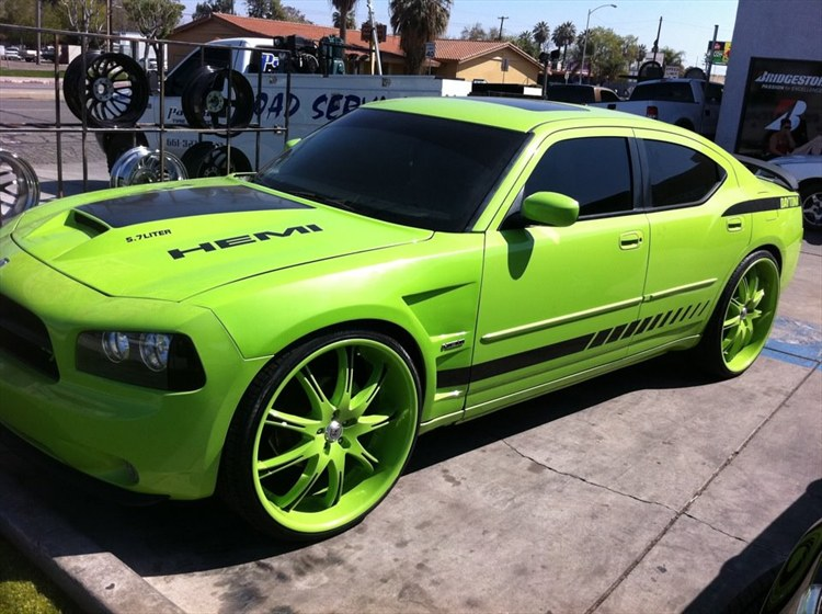 young stackz 2007 Dodge Charger