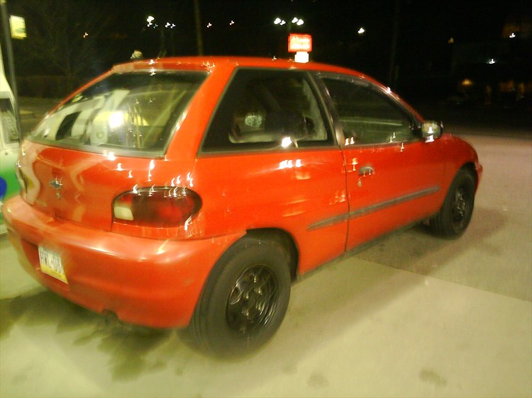 fastcarswagg 2000 Chevrolet Metro