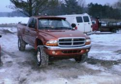 dakotaorange 2000 Dodge Dakota Extended Cab