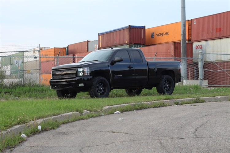 Blacked Out Silverado >> BLACKED OUT 09 2009 Chevrolet 1500 Extended Cab Specs, Photos, Modification Info at CarDomain