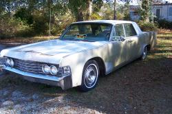 chris bivens 1965 Lincoln Continental