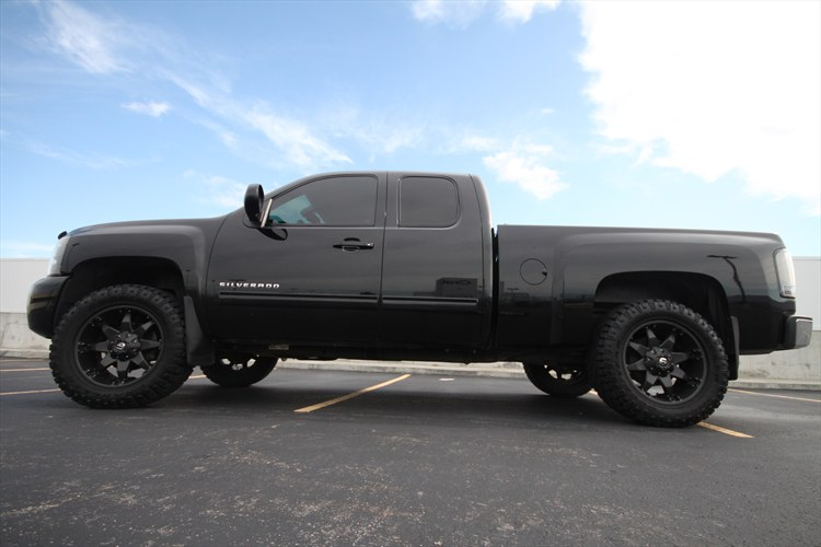 Another BLACKED OUT 09 2009 Chevrolet 1500 Extended Cab post... - 15946444