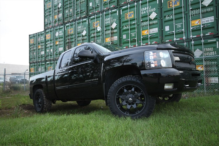 Another BLACKED OUT 09 2009 Chevrolet 1500 Extended Cab post... - 15946455