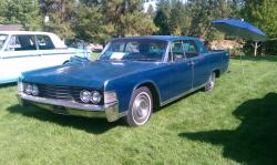 Meanp72s 1965 Lincoln Continental