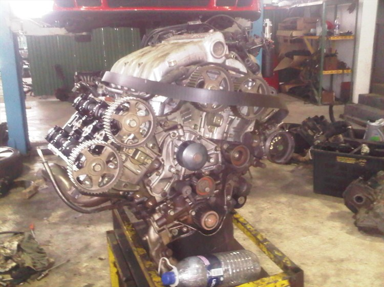 Work in progress on my Twin Turbo Z16A...   - 15937432