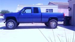 Blue97 1997 Chevrolet 1500 Extended Cab