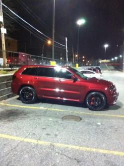 TOMMYSRT8 2012 Jeep Grand Cherokee