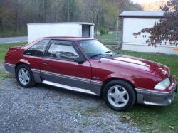 keys stang 1990 Ford Mustang