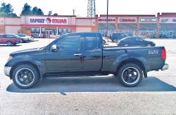 05blacknismo 2005 Nissan Frontier King Cab