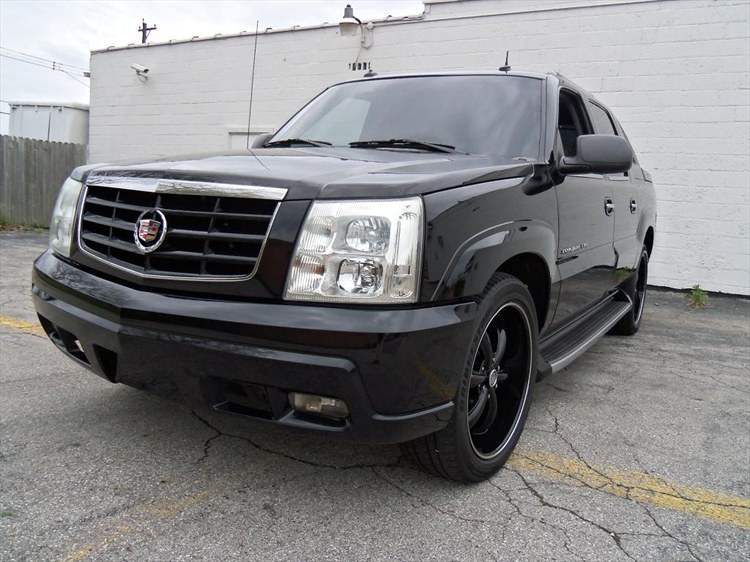 woodwardauto 2003 cadillac escalade extsport utility. Black Bedroom Furniture Sets. Home Design Ideas
