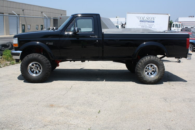 Bigredk8 1995 Ford F150 Regular Cablong Bed S Photo Gallery At Cardomain