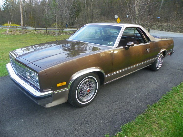 2011regal 1984 Chevrolet El Camino Specs Photos