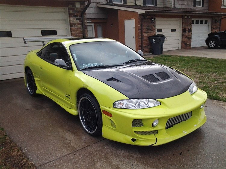 PsychoJose's 1995 Mitsubishi Eclipse in Fort Campbell, KY