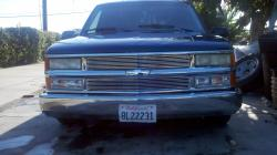 old blue 1994 Chevrolet 1500 Extended Cab