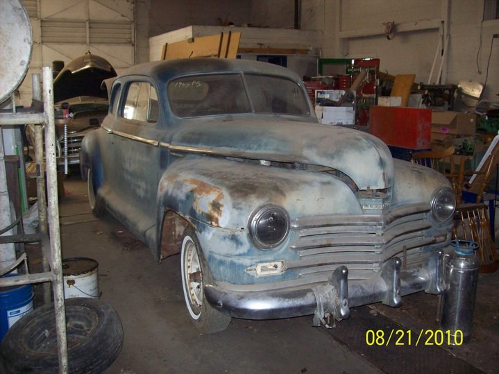 squeaksworld208 1947 Plymouth Deluxe