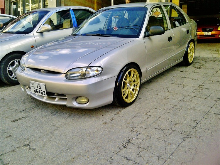 Hyundai Accent Hatchback >> fadehunate 1997 Hyundai AccentGS Hatchback 2D Specs, Photos, Modification Info at CarDomain