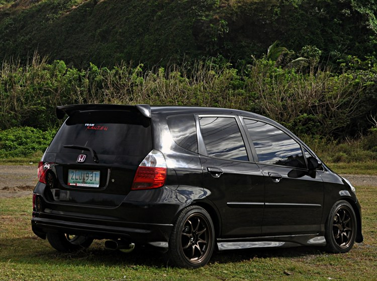 Spoonjazz 2007 Honda Fitsport Hatchback 4d Specs Photos