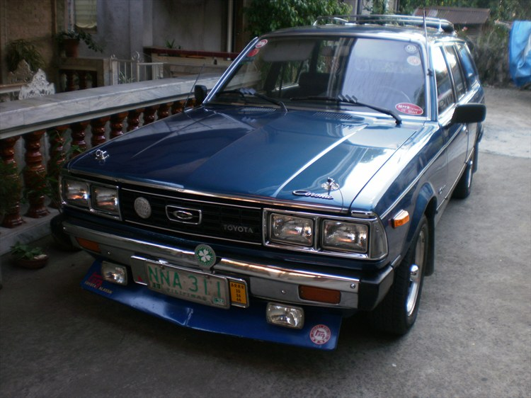 Toyota corona modified