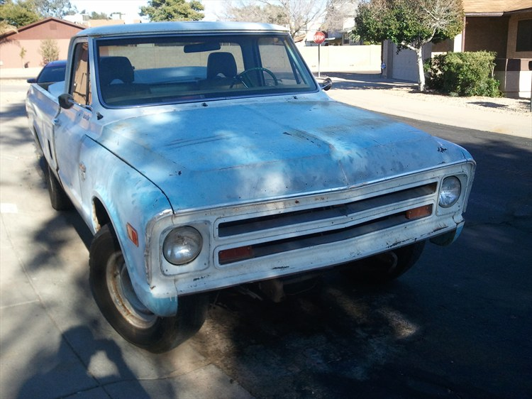carbonblueceligt 1971 Chevrolet C/K Pick-Up 18826119