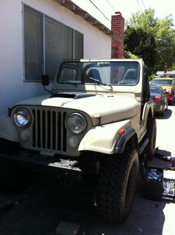 Jr.-Diaz 1977 Jeep CJ5