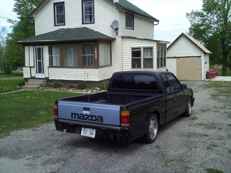 1992 Mazda B-Series Cab Plus
